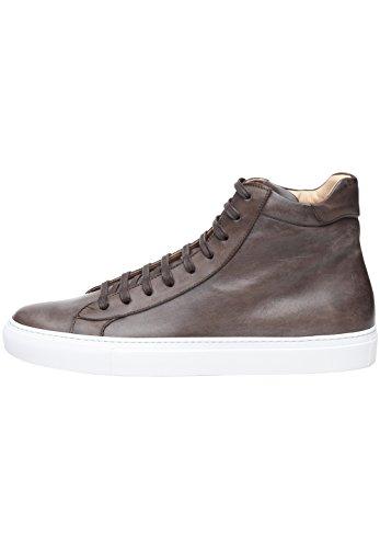La Fin Main Foncé En À Italian Homme Italien Sneaker Fabriquée Et Sportive Shoepassion Marron Calf Chaussure Pour 56 No Cuir Dynamique Ms qHWwaTA