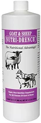 Nutri-Drench Goat and Sheep Nutrition Supplement Solution - 1 Quart