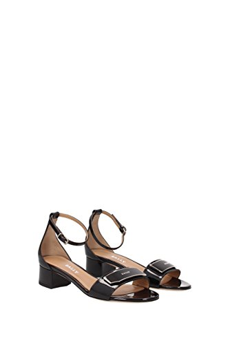 Bally Black Damenmode 5 Sandalen UK 8 HHqSrw