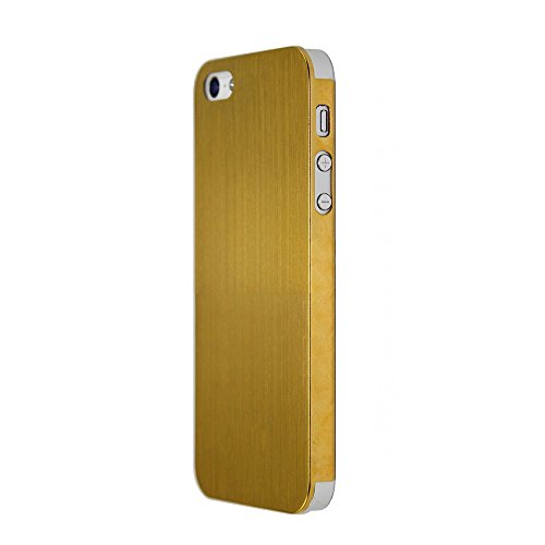 Cagayan Wood Luxury Moblie Phone Case for iphone 5 5s phone Case Protective Back Cover natural Original Design(Yellow)