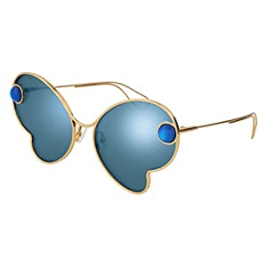 Sunglasses Christopher Kane CK 0016 S- 003 GOLD / BLUE