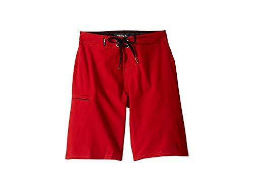 O'Neill Kids Boy's Hyperfreak Lifeguard Swim Shorts (Big Kids) Red 22 (Big Kids)