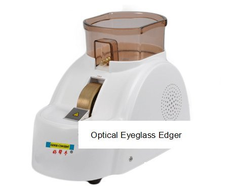 Optical Hand Edger Optical Eyeglass Grinder Manual Lens Grinder CP-11A-30W High Power Motor (220 Eyeglasses)