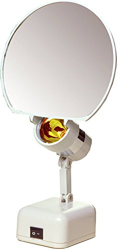 Floxite Fl-615 15x Supervision Magnifying Mirror Light, White, Frosted White Body Care / Beauty Care / Bodycare / BeautyCare