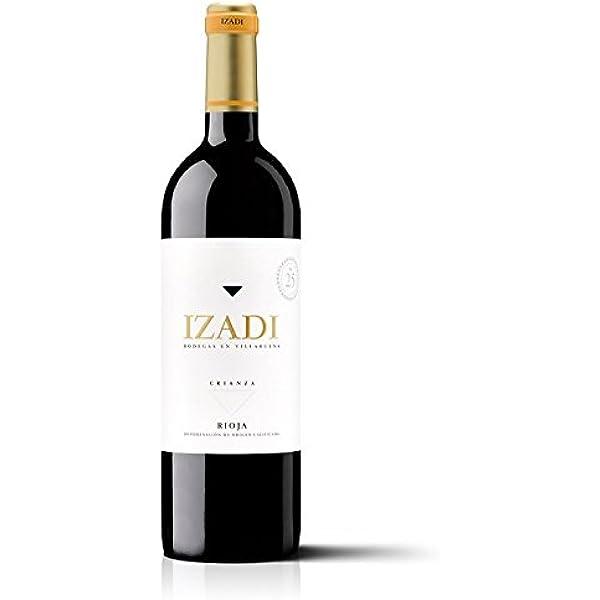 Izadi Crianza 2016 Vino Tinto Rioja DO 100% Tempranillo [Pack 6 x 75 cl]: Amazon.es: Alimentación y bebidas