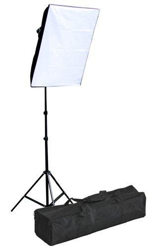 - Fancierstudio 1000 watt softbox lighting kit softbox light kit video lighting kit with carrying case by Fancierstudio 9026S Single