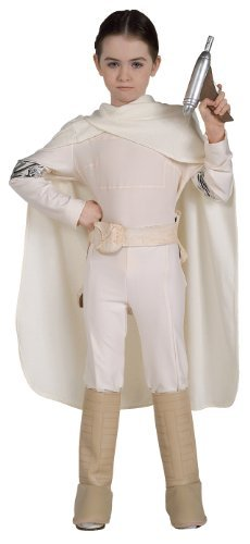 Kids Deluxe Padme Costumes (Disney Star Wars Padme Amidala Deluxe Child Costume Small)