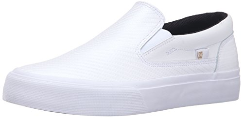 Women's Trase LE Slip On Shoes, White/Gold, 7 - Sketches Skate Shoes