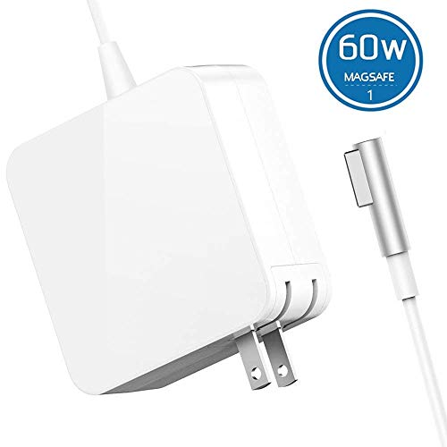 QIANXIANG Laptop Charger L Tip/Shape/Style Magnetic Connect 60W AC Replacement Power Adapter Laptop Charger Compatible MacBook Pro 13 inch by QIANXIANG