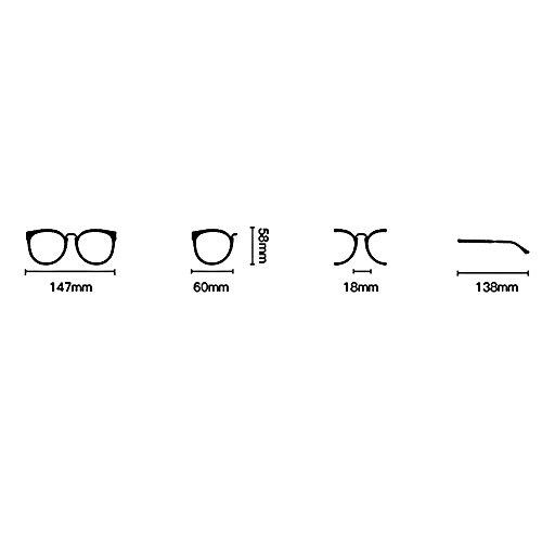 de ZHIRONG retro Gafas gafas la 06 viajes gafas moda sol conducción de estilo Color amantes 06 polarizadas playa UIUqYr