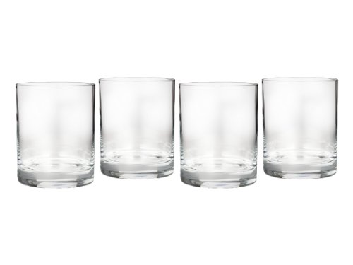 Marquis by Waterford Entertaining Collection Vintage Double Old Fashioned, Set of (Waterford Crystal Old Fashioned Glass)