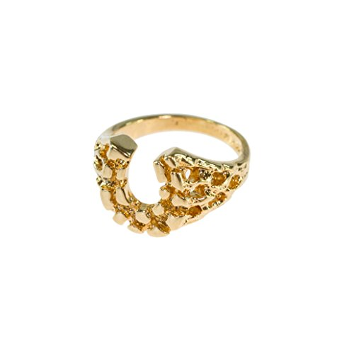 Providence Vintage Jewelry Horseshoe Ring 18k Yellow Gold - 18k Ring Electroplated Mens Gold