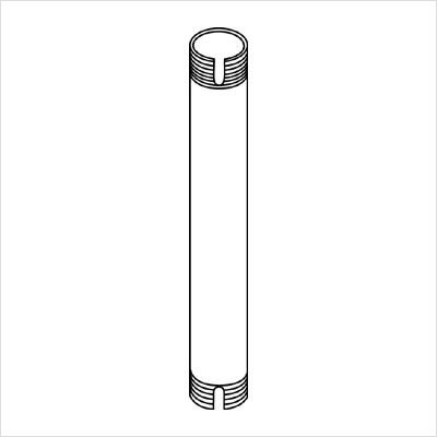 PEERLESS EXT-104 Fixed Length Extension Columns for JMC Series Ceiling Mounts - 4 (Discontinued by Manufacturer)