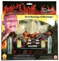 [A Nightmare On Elm Street Freddy Krueger Makeup Kit, Brown, One Size] (Costume Makeup Wax)