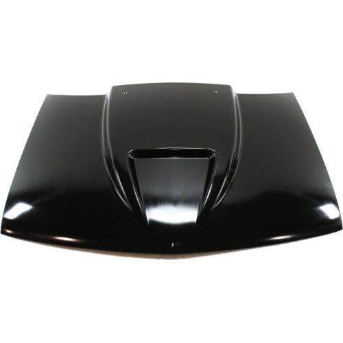 PC130114 - S10 Pickup Cowl Hood, Ram Air Cowl, Steel, Primed , 2\ Rise