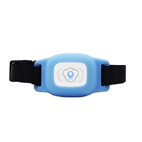 Docooler Pet Tracker, FT01 Mini Pet GPS AGPS LBS Tracking Tracker Collar Smart Waterproof IP67 for Dog Cat AGPS LBS SMS Positioning Geo-Fence Track Device