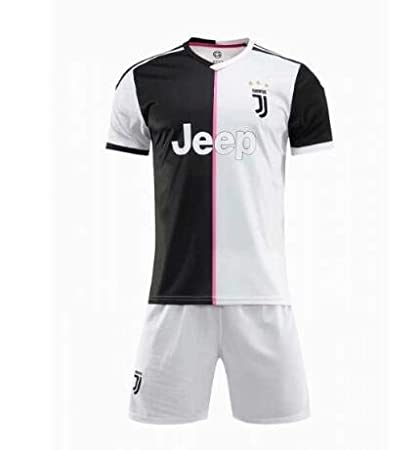 318f5e1d5 GOLDEN FASHION Juventus Home KIT 2019-20 Jersey with Short (XL 44 quot )