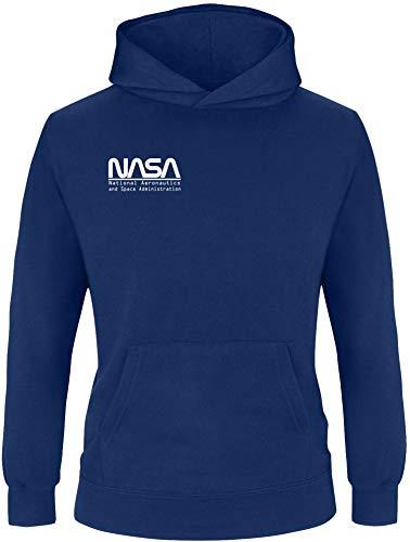 EZYshirt® Nasa Spacetime Pullover voor kinderen, meisjes met capuchon