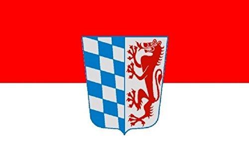 U24 Motorradflagge Niederbayern Fahne Flagge 20 x 30 cm