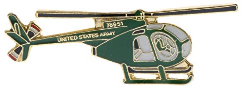 Sujak Military Items OH-6A Cayuse Loach Helicopter Miniature Replica Hat or Lapel pin HON15920