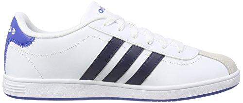adidasVLCOURT - Zapatillas Hombre Blanco - Weiß (Ftwwht/Conavy/Blue)