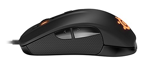 SteelSeries Rival - Ergonomic Optical Gaming Mouse (Certified Refurbished)