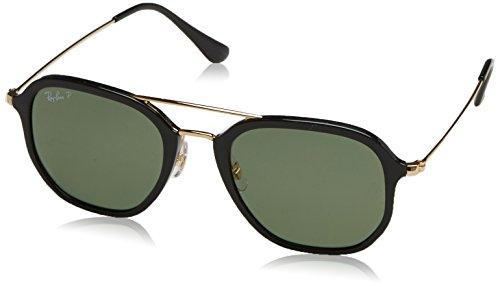 Ray-Ban Sunglasses (RB4273) Black/Green Plastic,Nylon - Polarized - 52mm