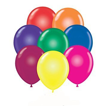 Balloons 24 Inch PARTY-TEX Crystal Assortment Latex Pkg/25