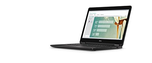 Dell Latitude E7270 12.5 Inch Business Ultrabook Intel Core 6th Generation i7-6600U 8GB DDR4 256GB Solid State Drive Webcam WiFi+BT Windows 10 Professional