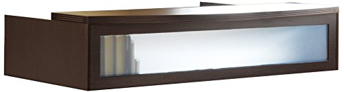 Mayline ARDTCLCR Aberdeen Transaction Counter for use with Reception Desk, sold separately, Cherry Tf