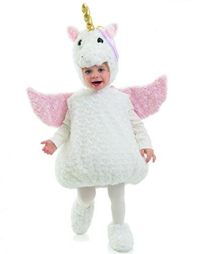 [Underwraps Cute Unicorn Toddler Costume, Large 2T-4T] (Unicorn Costume Baby)