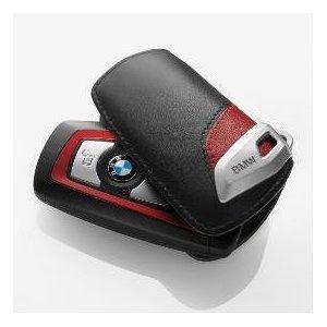 BMW Genuine Key Case Black Red Sport Line