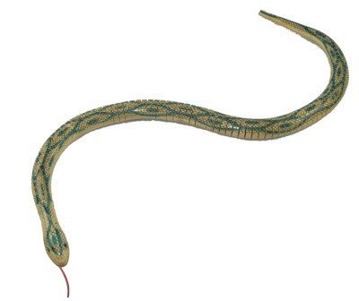 One Wooden Wiggle Snake inch