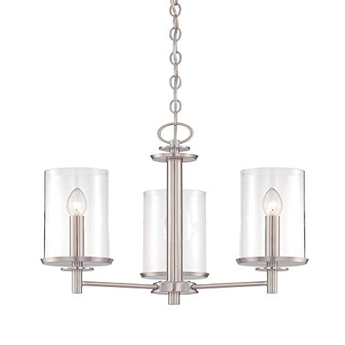 (Designers Fountain 87283-SP Harlowe 3 Light Chandelier)