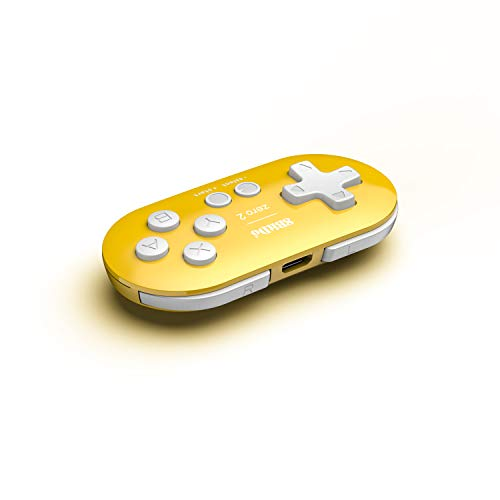 8Bitdo Zero 2 Bluetooth Gamepad(Yellow Edition) - Nintendo Switch