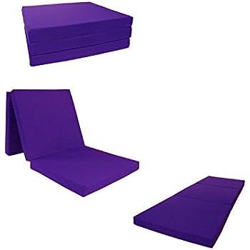 Amazon Com D Amp D Futon Furniture Purple Shikibuton Trifold