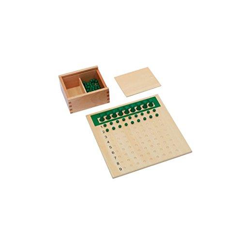 Adena Montessori Materials C114 Division Bead Board