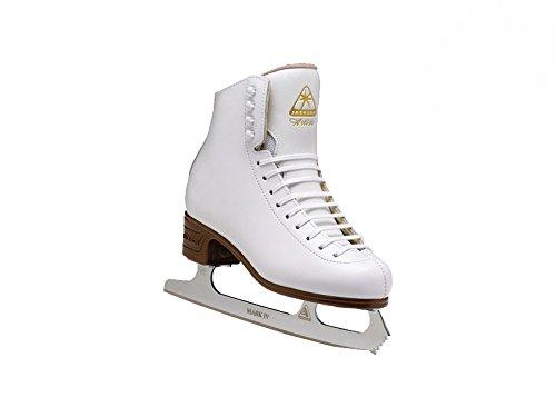 Jackson Ultima  Artiste JS1791 White Kids Ice Skates, Width C, Size 12.5