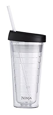 Ninja Hot & Cold 18 oz. Insulated Tumbler Color: Clear-2, Model: CF18TBLRS, Hardware Store