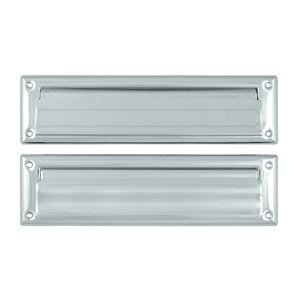 Mail Slot with Rear Access Finish: Polished Chrome