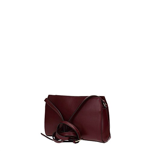 Guess sissi crossbody top zip brdeaux