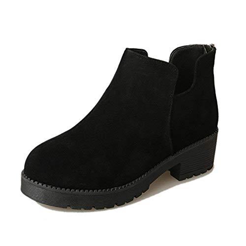 Boots Bassi 's Inverno Tacchi Short Stivaletti E Tondo Autunno Sed 36 Casual Scarpe Donna Eu yaRA7WSt