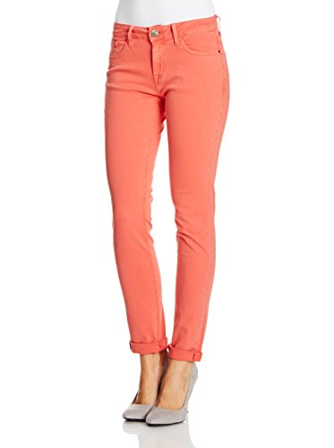 HIS - Vaqueros skinny/slim fit para mujer Azul (Cool Coral Red)