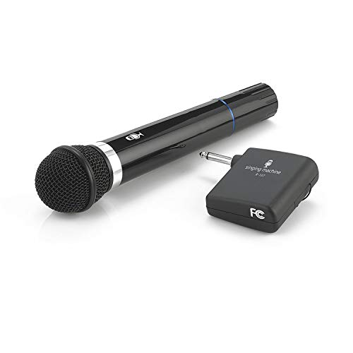 Singing Machine SMM-107 Karaoke Wireless Microphone (Black) - The Singing Machine Microphone