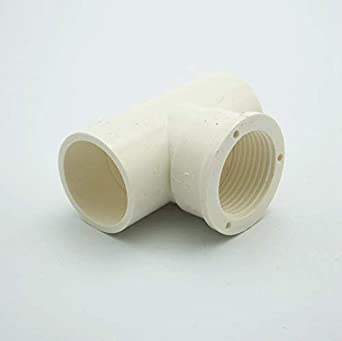 Maslin 32mm Id To 1 Female Bsp Thread Tee Pvc Pipe Fitting