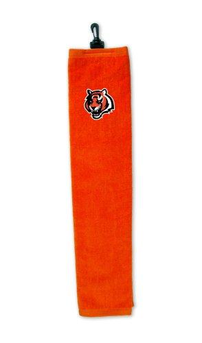 (Cincinnati Bengals Embroidered Tri-Fold Golf Towel)
