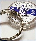 Lucas-Milhaupt Braze 450 1 troy Oz. 1/16' Diameter Wire Part #98000