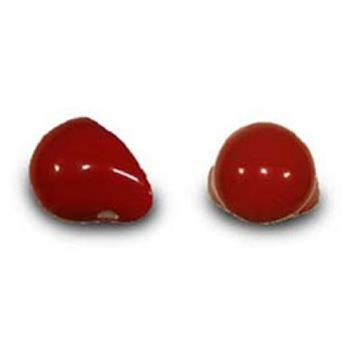 ProKnows Clown Noses - Style Rose - Gloss Red (Supplies Clown Professional)