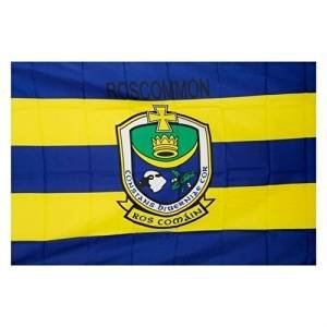 OFFICIAL IRELAND GAA crest COUNTY FLAG ROSCOMMON 152cm x91cm very limited stock by ROSCOMMON