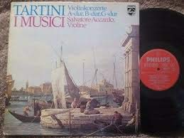 Tartini: 3 Violin Concertos in A, B Flat, and G: I Musici, Salvatore Accardo, Violin